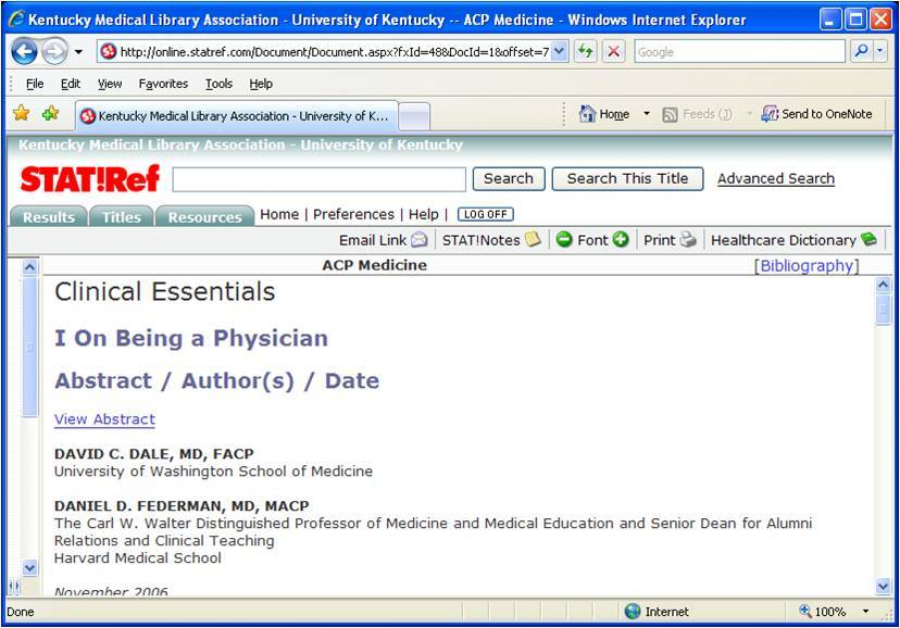 University Of Kentucky Library Pubmed