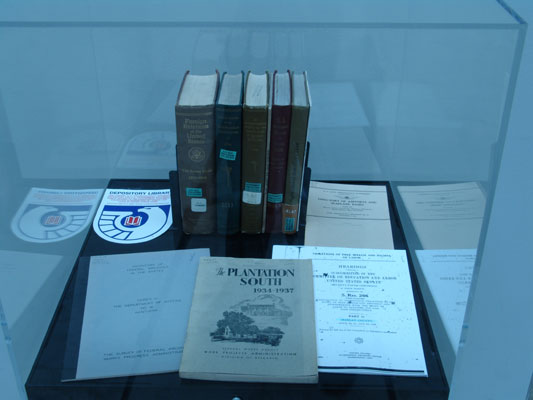 a selection of Federal government publications from 1930-1939