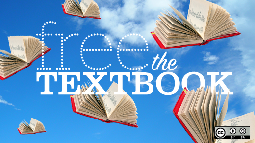 Image of free the textbook