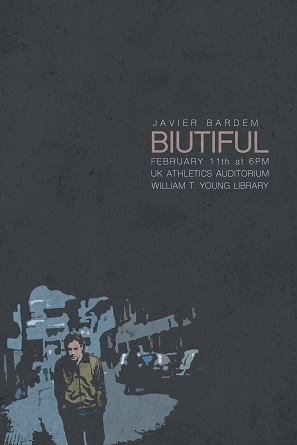 Movie Poster for Biutiful